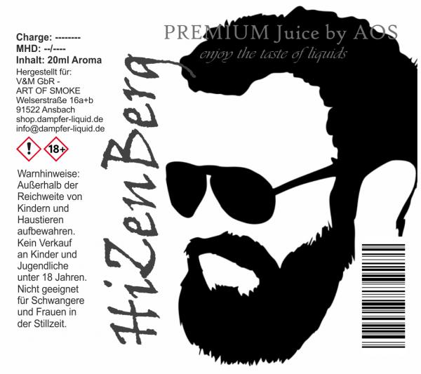 HiZenBerg - Premium Juice 60ml Set
