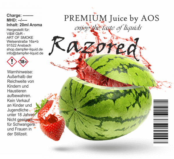 Razored - Premium Juice 60ml Set