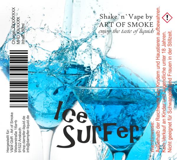 Ice Surfer Shake´n`vape 90ml