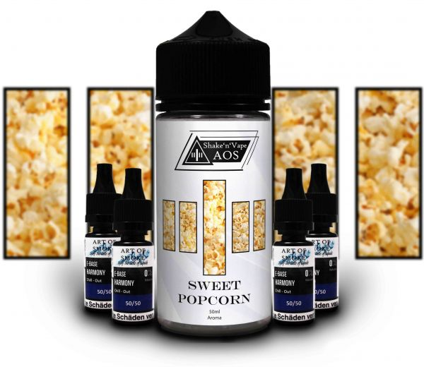 Sweet Popcorn Shake´n`vape 90ml