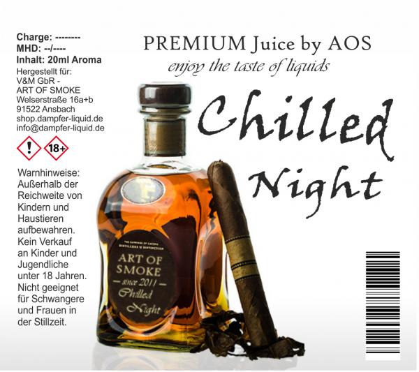 Chilled Night - Premium Juice 60ml Set