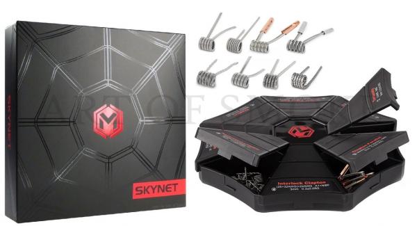 Coil Box Skynet - 8 in 1 Fertigcoils - CoilMaster