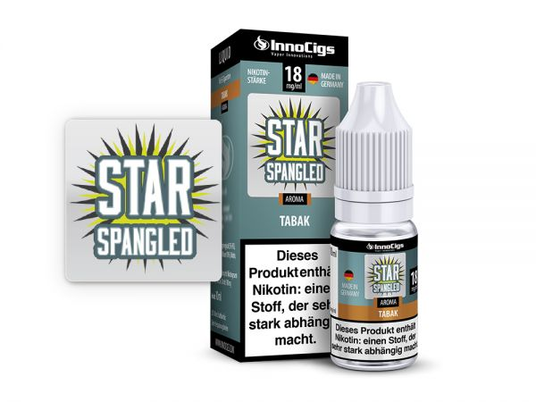 Star Spangled Tabak 10 ml Liquid