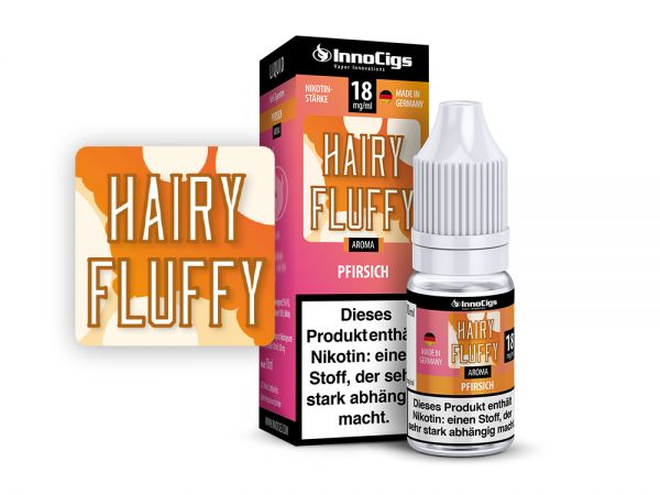 Hairy Fluffy Pfirsich 10ml Liquid