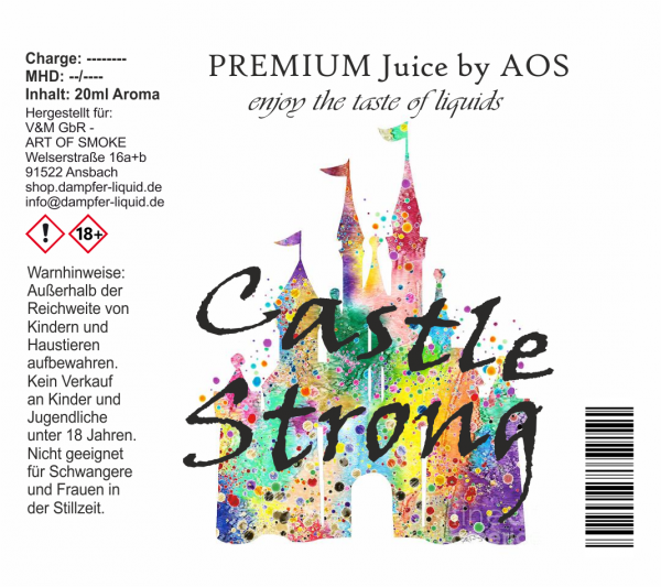 Castle Strong - Premium Juice 60ml Set