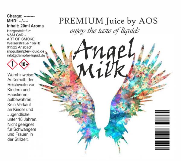 Angel Milk - Premium Juice 60ml Set