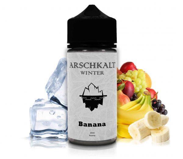 ARSCHKALT Winter Banana- 20ml Aroma/ Longfill