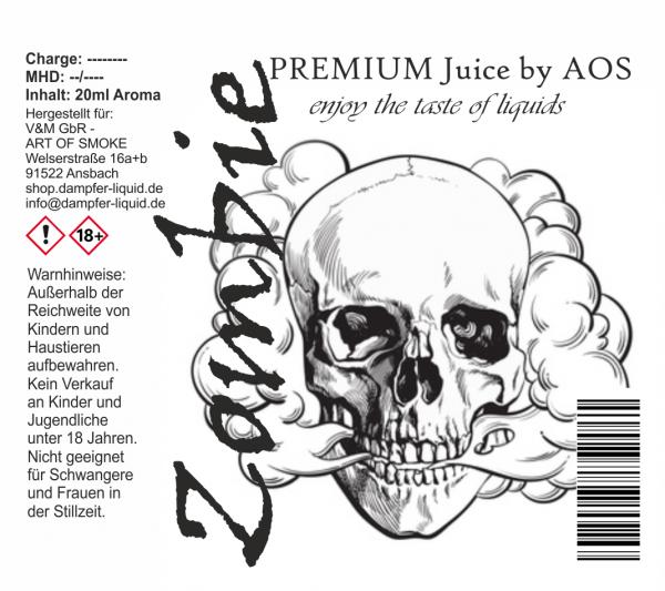 Zombie - Premium Juice 60ml Set