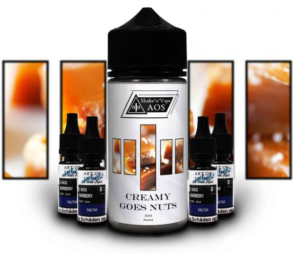 Creamy goes Nuts - Shake´n`Vape 90ml