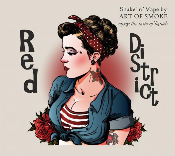 Red District - Shake´n`Vape 90ml