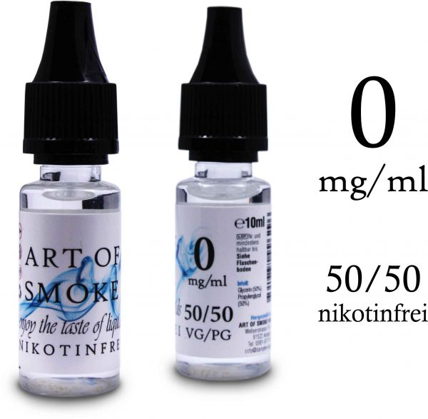 Basen-Shot - Nikotinfrei 50/50 - 10ml