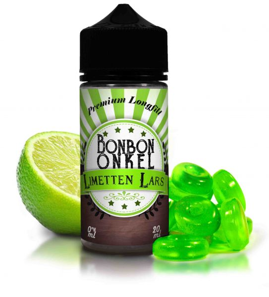 Bonbon Onkel Limetten Lars - 20ml Aroma/ Longfill