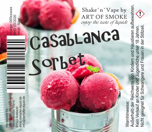 Casablanca Sorbet - Shake´n`Vape 90ml