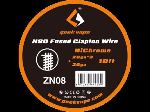 Fused Clapton Wickeldraht Ni80 - GeekVape