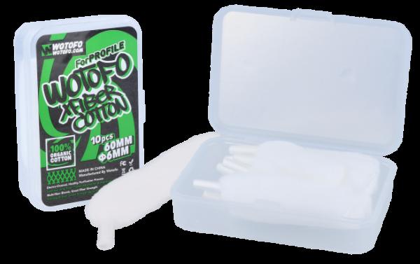 XFIBER Cotton - WOTOFO - Watte für Meshselbstwickler