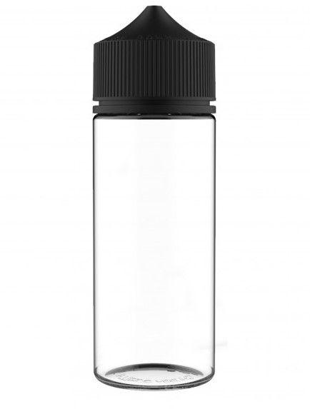 Chubby Gorilla V3 - 120ML PET - Unicorn Bottle schwarz/ transparent