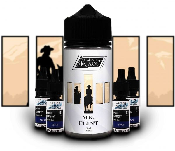 Mr. Flint - Shake´n`vape 90ml