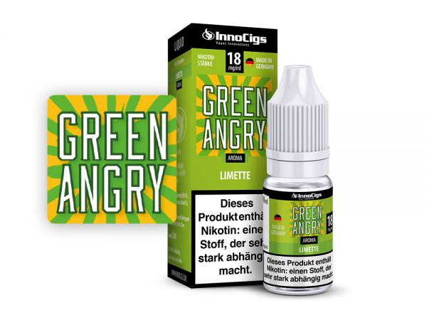 Green Angry Limetten 10ml Liquid